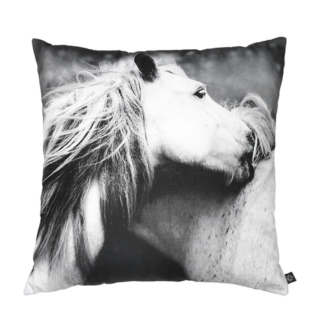 Playing Horses Decorative Pillow