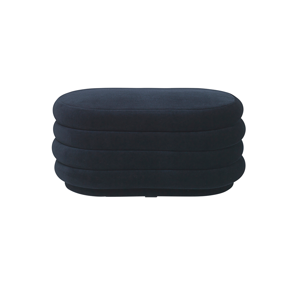 Oval Velvet Pouf, 4 Different Colors/FREE SHIPPING