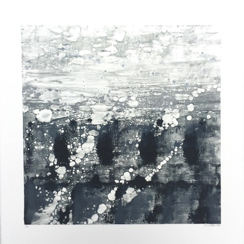 Charlotte Sabbagh  -  'Reflection' Monotype Print