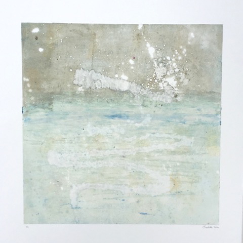 Charlotte Sabbagh  -  'Horizon' Monotype Print