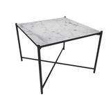 Coffee Table 60, White Marble/FREE SHIPPING