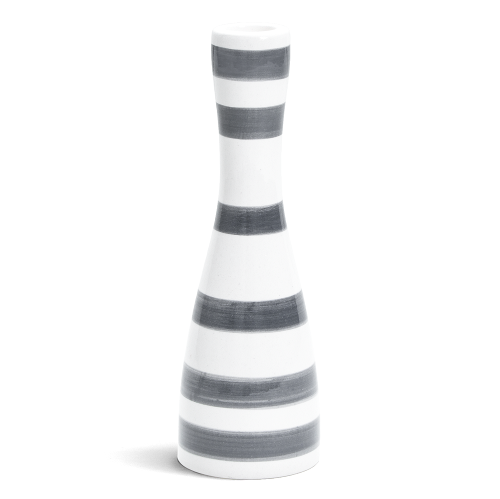 Omaggio Candlestick Grey, 2 Sizes