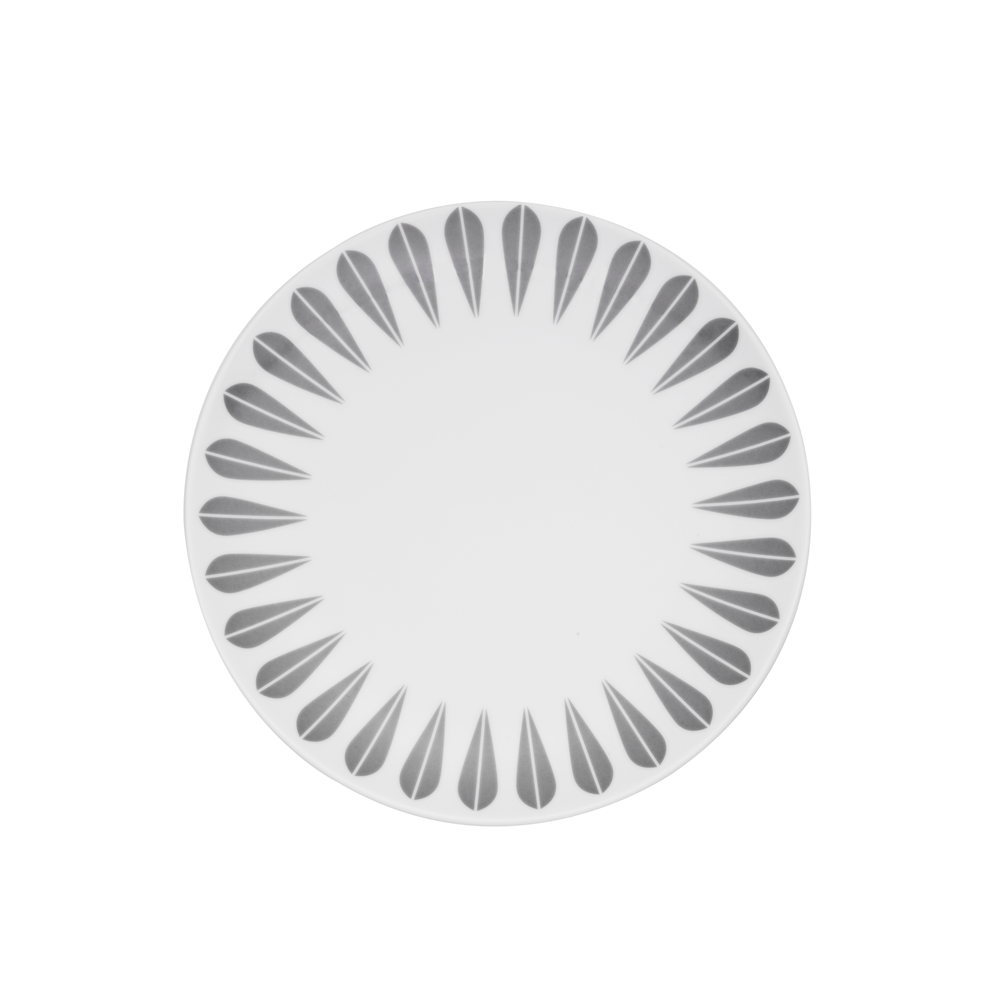 Grey Lotus Deep Plate