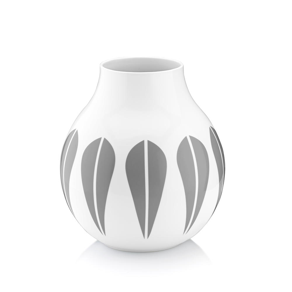 Grey Lotus Vase, Large