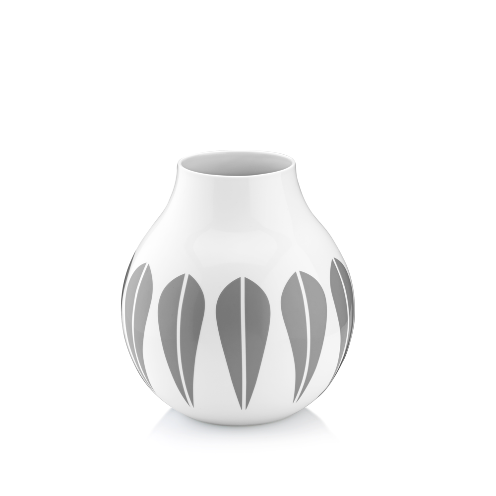 Grey Lotus Vase, Medium