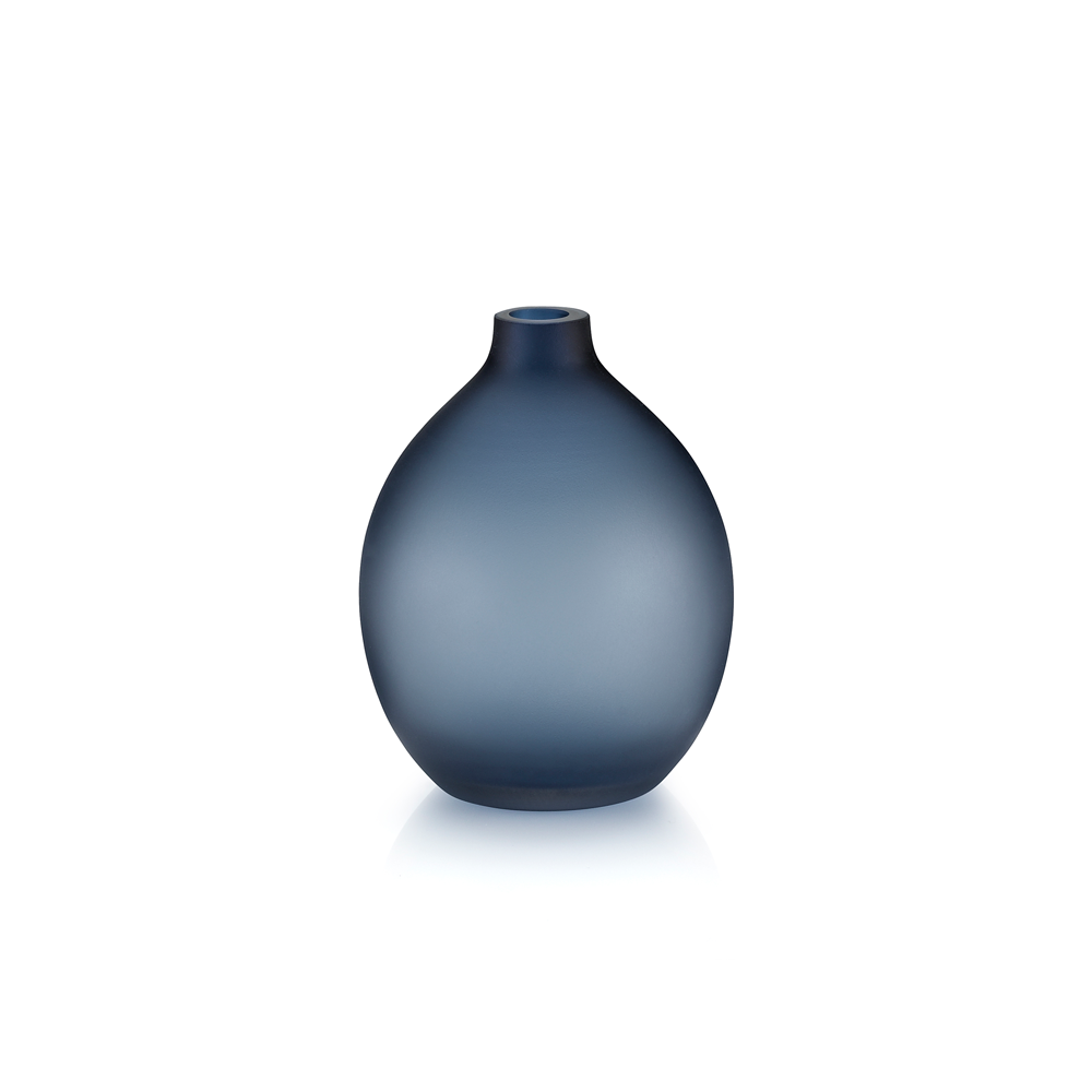Sansto Vase, Dark Blue, Small