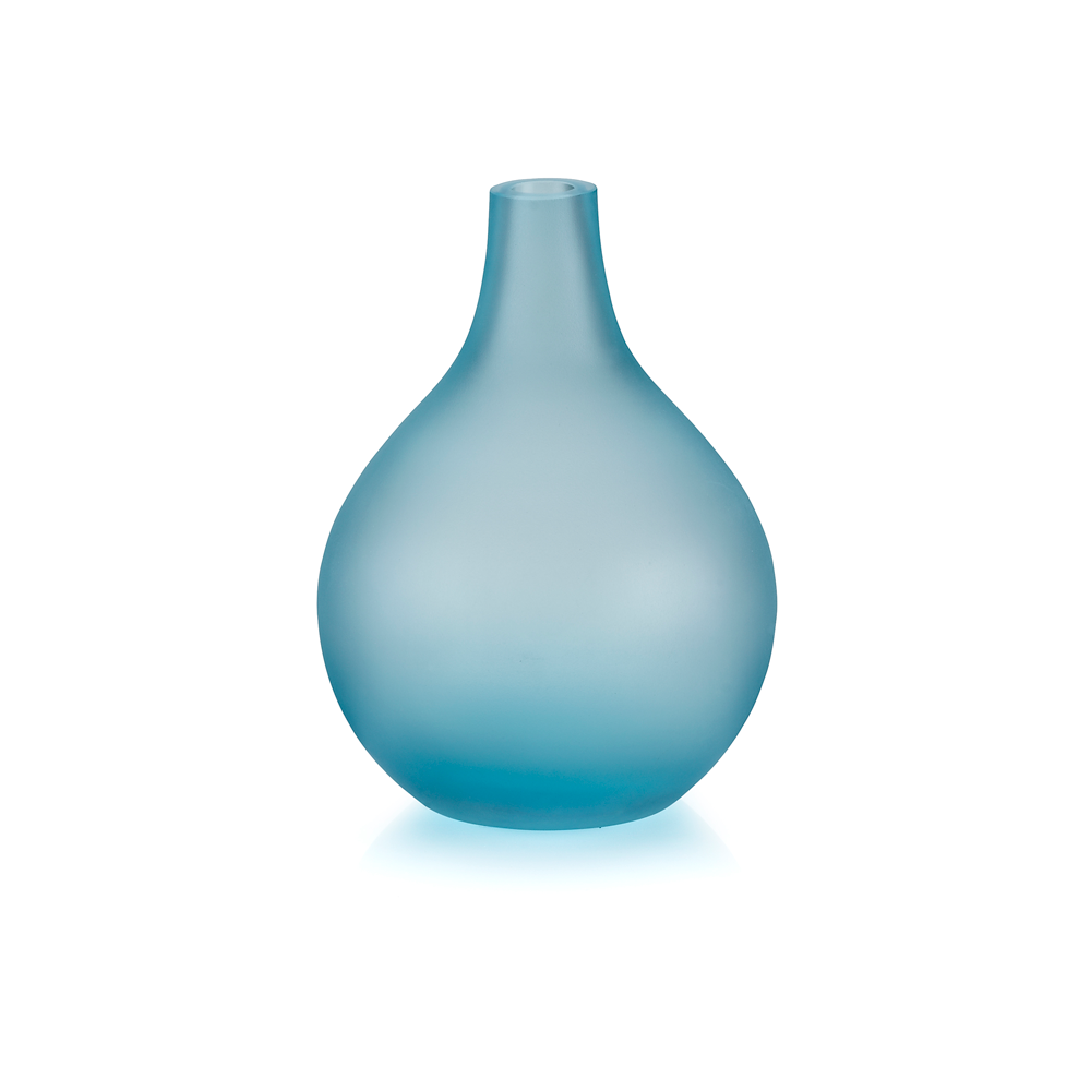 Sansto Vase, Light Blue, Medium