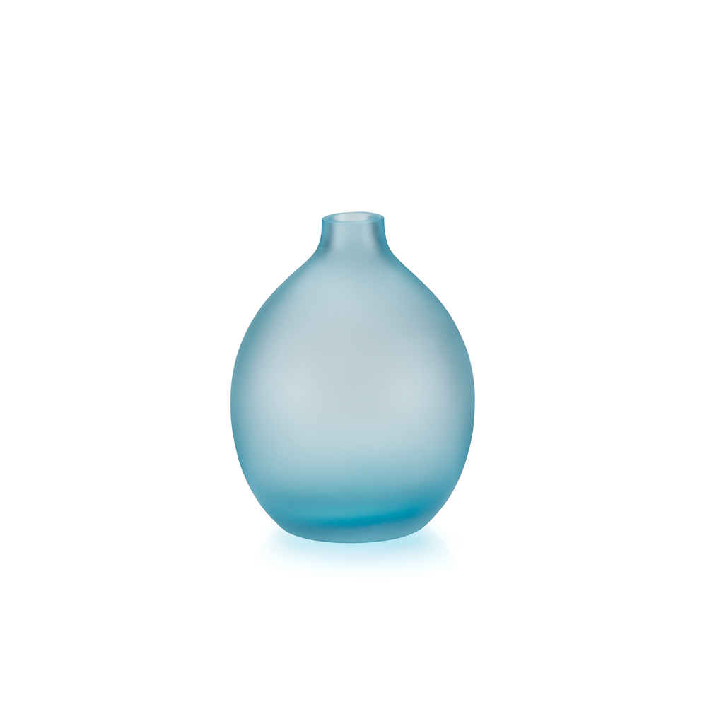 Sansto Vase, Light Blue, Small