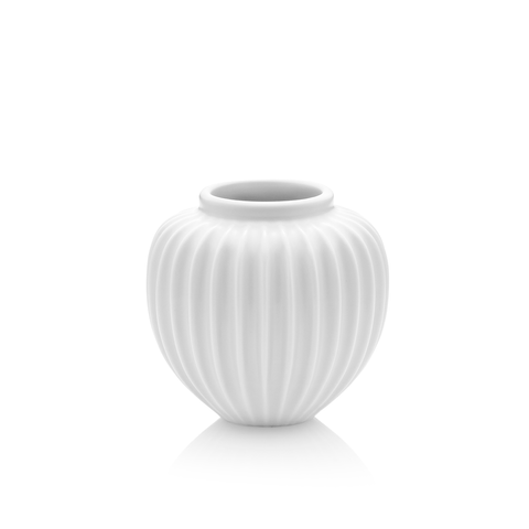 Schollert Vase in White, Small