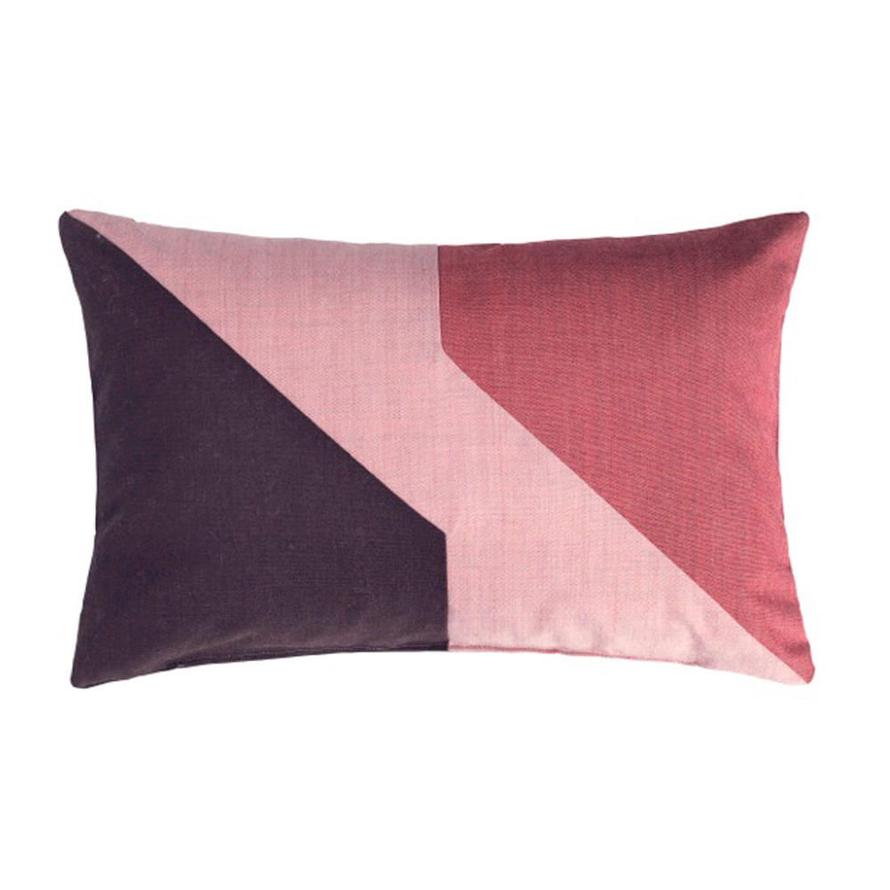 Architect Decorative Pillow Bordeaux/Pink