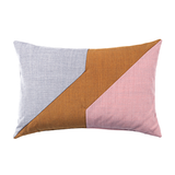 Architect Decorative Pillow Brass/Rose