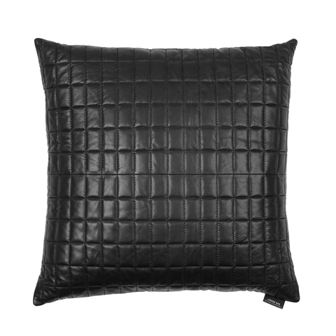 Black Lamb Skin Pillow