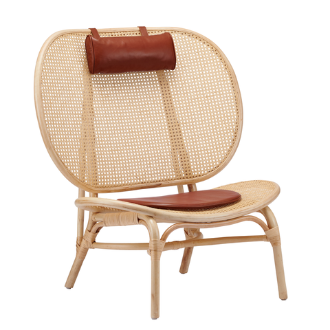 Nomad Chair, Natural Rattan