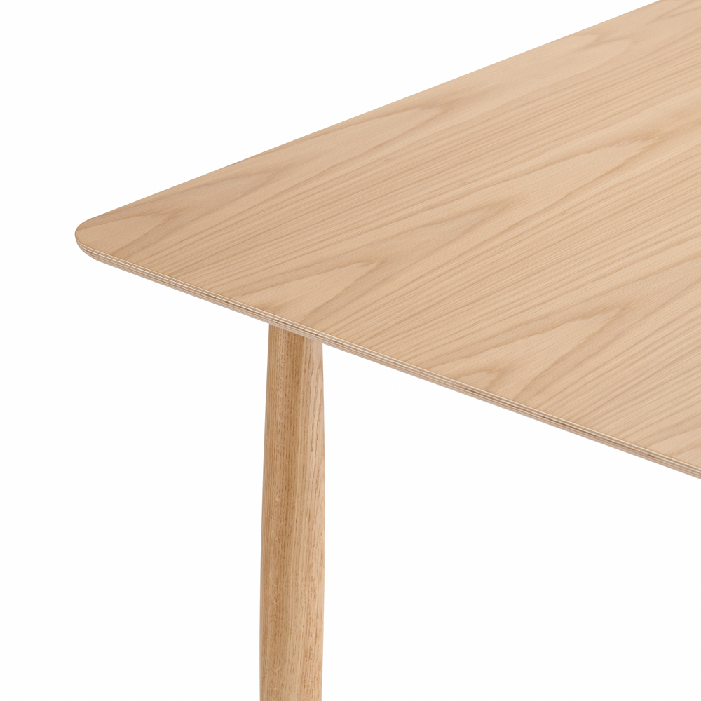 Oku Rectangular Dining Table, Oak