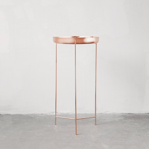 Copper Tray Table
