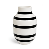 Omaggio Vase Black, 3 Sizes