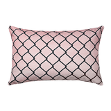 Red Fence Decorative Pillow