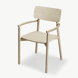 Hven Armchair in Natural Oak