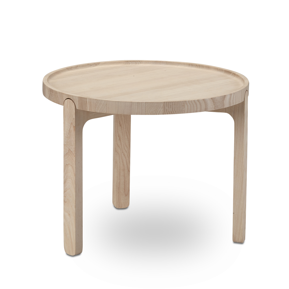 Indskud Tray Table, Low/Ash or Black Oak