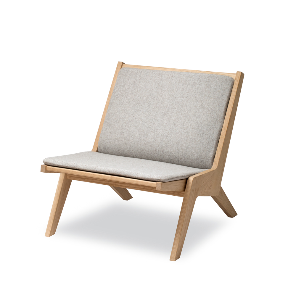 Miskito Lounge Chair Oak Kontrast Danish Furniture And Home Decor
