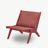 Miskito Lounge Chair, Scarlet Red