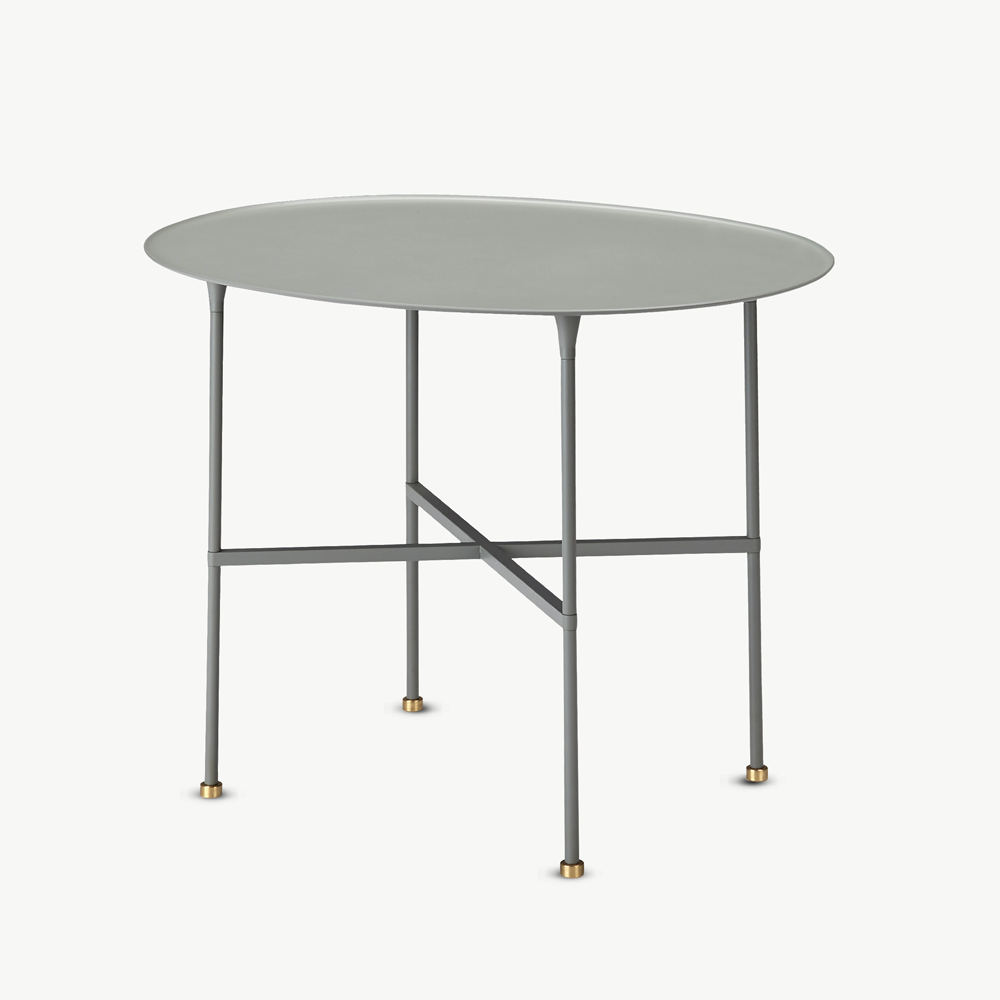 Brut Table, Black or Slate Grey
