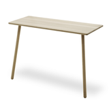 Georg Desk in Natural or Black Oak