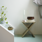 Fionia Stool in Natural or Black Oak, or Teak