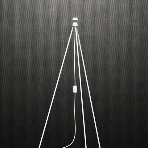 Floor Tripod for EOS and Silvia pendants, White