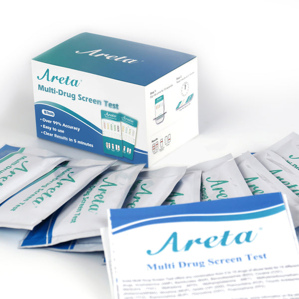 Areta 5 Panel Urine Drug Test Dip Card Kit #ADTP-254 Expires 12/25/21