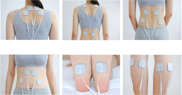Easy@Home Deluxe TENS Unit Muscle Stimulator-FDA Cleared for Pain Management #EHE010