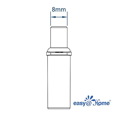 20 Pack Easy@Home Breathalyzer Mouthpiece, Compatible with Easy@Home Fuel Cell Breath Tester for Alcohol Indication EAT-05FL