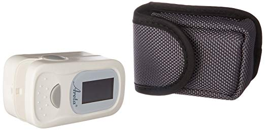 Areta Fingertip Pulse Oximeter with Dual-Color OLED-Display 8 modes EHP-500A