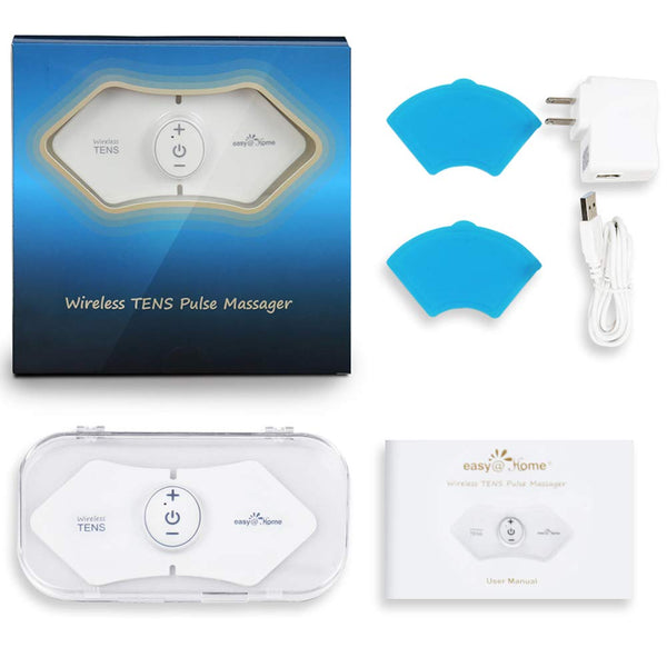 Easy@Home Wireless Rechargeable TENS Unit Massager #EHE016