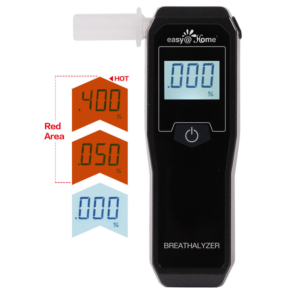 Easy@Home Fuel Cell Breathalyzer for Alcohol Indication on Breath EAT-05FL