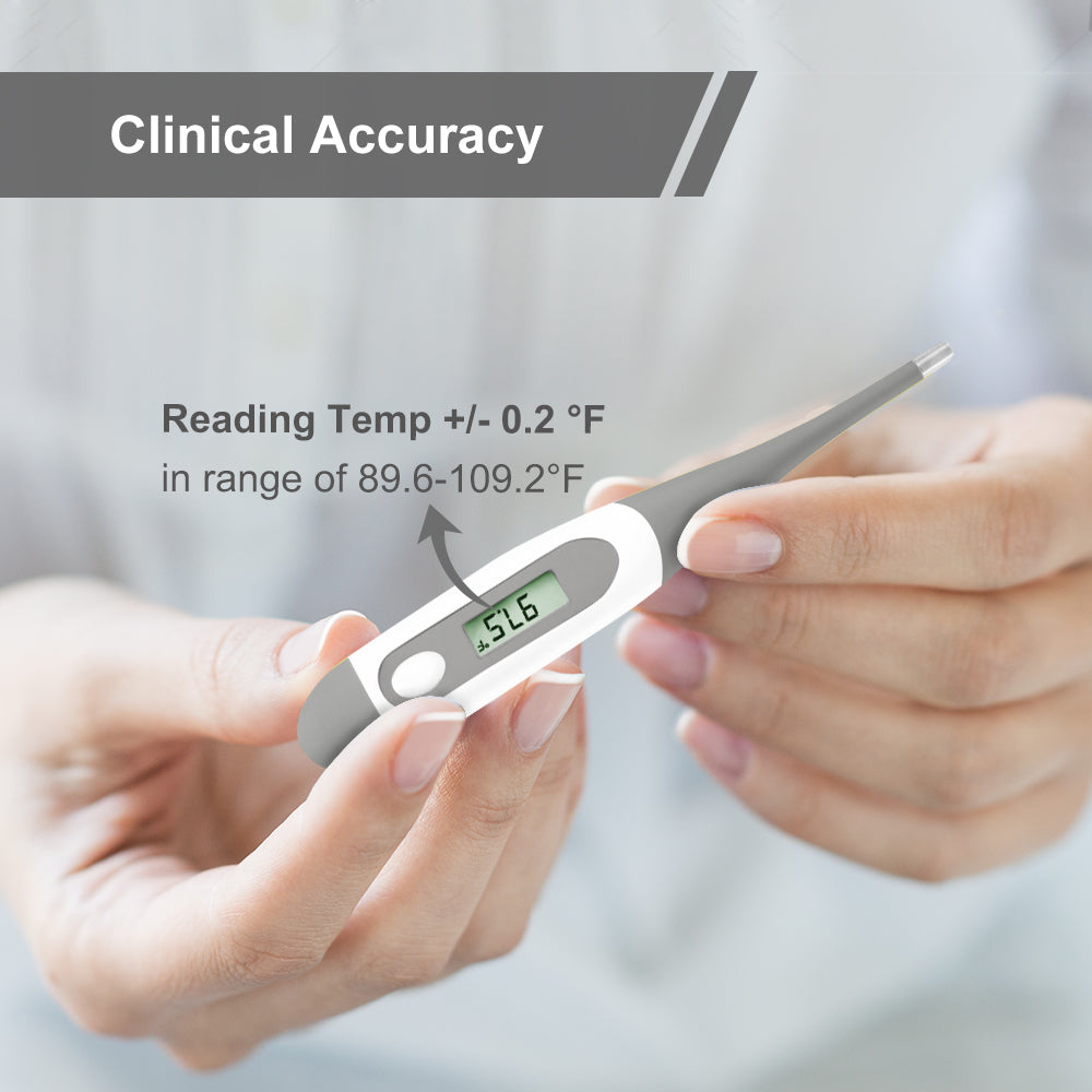 Digital Oral Thermometer For Kid Baby And Adult Rectal And Underarm