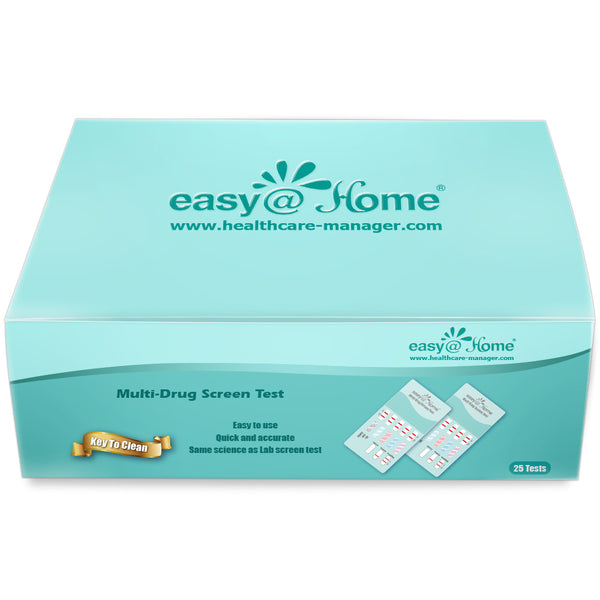 Easy@Home 12 Panel Instant Urine Drug Test Dip Kits EDOAP-6125B