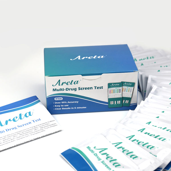 Areta 12 Panel Urine Drug Test Dip Card Kit #ADTP-6125B