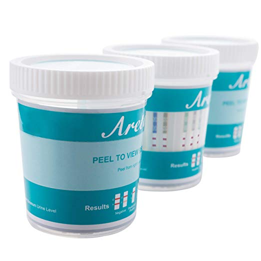 CLEARANCE - Areta 5 panel Instant Drug Test Cup - Screening Kit #ACDOA-754 - EXPIRES 2/24/2021