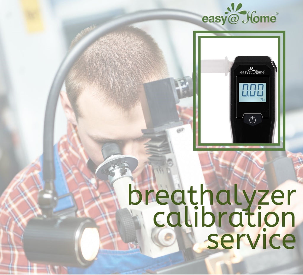 Easy@Home Breathalyzer Calibration