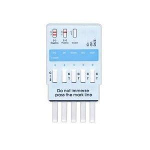 Drug Test - 6 Panel Urine Drug Test Kit WDOA-865