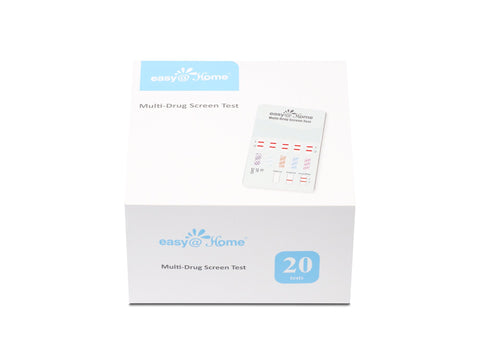 Drug Test - Easy@Home 10 Panel Instant Urine Drug Test EDOAP-4104