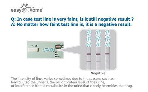 Easy@Home 12 Panel Instant Urine Drug Test EDOAP-6124 How To Read