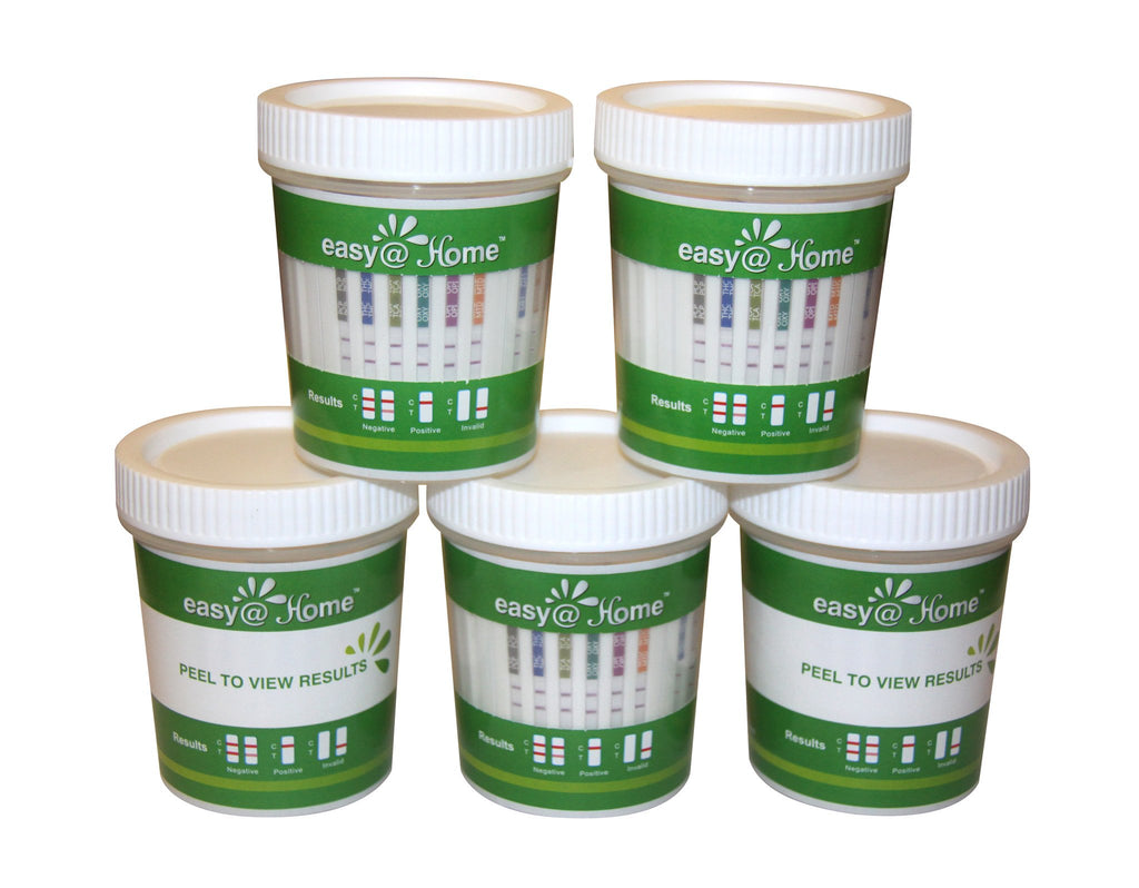 Drug Test - Easy@Home 12 Panel Urine Drug Test Cups #7124 Testing  - #ECDOA-7124