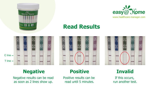 Drug Test - Easy@Home 12 Panel Urine Drug Test Cups #ECDOA-6125B