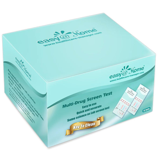 Drug Test - Easy@Home 5 Panel Instant Drug Test Dip EDOAP-754