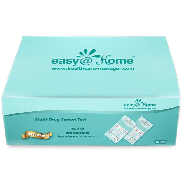 Drug Test - Easy@Home 5 Panel Urine Drug Test Kit EDOAP-654