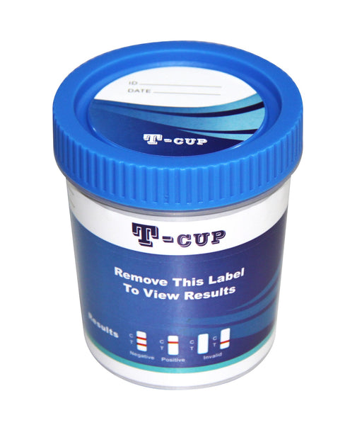 Drug Test - Home Drug Test 10 Panel T-Cup With 3 Adulterates TDOA-7104A3