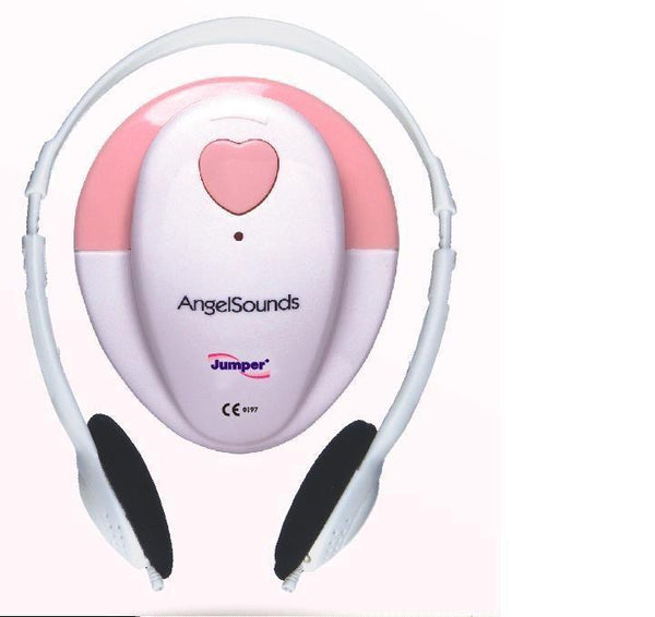 Health Management - Angelsounds Fetal Doppler (100S, 3.3Mhz Baby Heart Monitor)