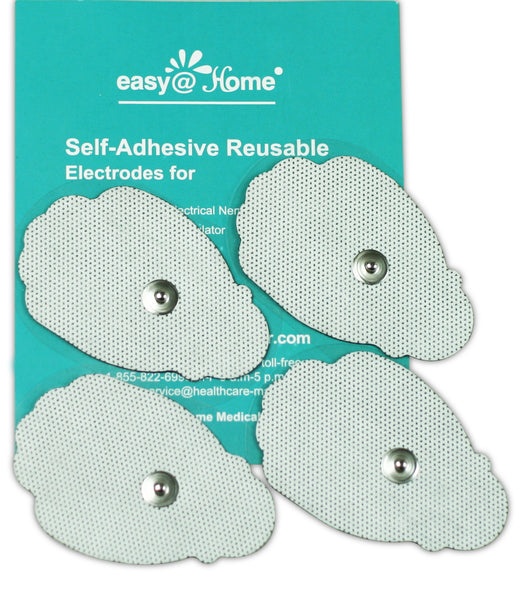 "Health Management - Easy@Home 2""x3"" Re-useable Adhesive Electrode TENS Pads 16 Pack EHE-029G PADS"